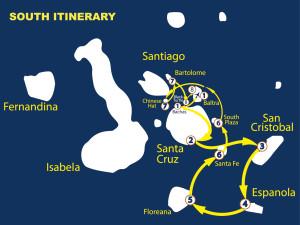 Itinerario Sur Nemo II